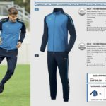 JAKO Teamsport Katalog 2017 020 Champ Trainingsanzug Trainingsjacke Trainingshose Sportswear Fussball Mannschaft Trikot Sportbekleidung Fussball Trikots Online Sportdress Shop Flexdress Schweiz